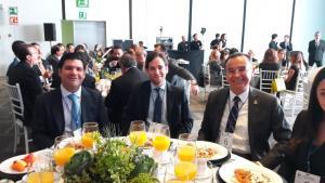 Armando Gómez de Chocolatera Ibarra y Miguel Manzano de Auroquim