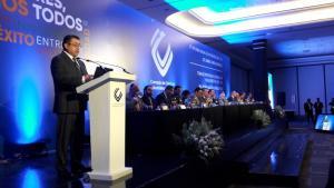Ing. Masayi González nuevo coordinador del CCIJ en su discurso